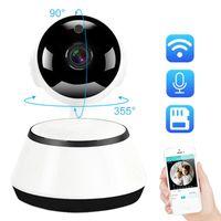 Cameras Mini Security Wifi IP Camera Home Wireless Smart HD 720P Surveillance Two Way Audio SD Card Baby Monitor CCTV P2P ICSee