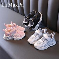 Size 21-30 Children Sports Shoes Baby Girls Boys Casual Shoes Soft Bottom Non-slip Breathable Outdoor Fashion Kids Sneakers H0917