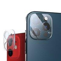 Para iPhone 12 11 Pro Max Back Camera Lens Protector 3D Transparente Telefone traseiro Anti-Scratch Filme