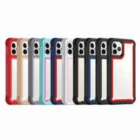 Temizle Hibrid Çift Katmanlı 2 1 Içinde Darbeye Dayanıklı Kılıflar Iphone 12 11 Pro Max XR XS X Samsung S9 Artı S10 S10E S20 S21 Ultra Not 10 10 + M10 A10 A20 A30 A50 A70