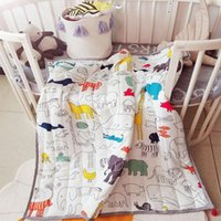 Carpets Nordic Cartoon Animals Floor Mat Baby Play Blanket Children Rug Kids Crawling Carpet Activity Game