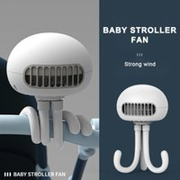 Bladeless Fan usb gadgets mini Creative Jellyfish Portable Can Stand Windable Rechargeable Handheld For Baby Courier and Phone Holder