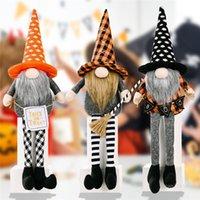 Party Saciosts Хэллоуин украшения гномов Кукла плюшевые ручной работы Томте Шведский Длинноногий Гнома Dwarf Украшения Детские подарки T9i001442