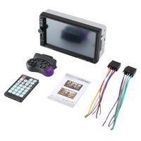 Vidéo de voiture Marque 7 pouces Double 7018B 2 DIN FM Stereo Radio MP5 Player écran tactile multimédia avec contrôle de la direction
