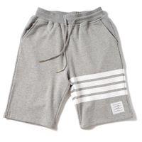 Beach Summer Tide Brand TB Pantaloni stampa a righe, Capris, T-shirt manica corta, coppia, camicia da studente 7727