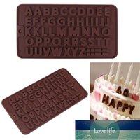 DIY Silicone Chocolate Mold 26 Alphabet Heart Fondant Cake Decor Jelly Mould Kitchen Baking Tool