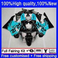 Bodywork Kit For HONDA CBR893RR CBR900RR 1989-1993 Body 36No.179 CBR893 CBR900 RR 1989 1990 1991 1992 1993 CBR 893 900 CC 893RR 900RR 89 90 91 92 93 Fairing Black cyan