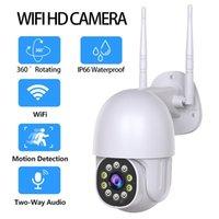 와이파이 카메라 야외 2MP 줌 속도 AI 인간 탐지 패밀리 보안 폐쇄 회로 텔레비전 IP 카메라