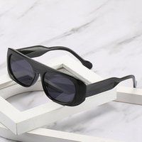 Óculos de sol preto mulheres transparentes marrom sol óculos homens luxo tendências vintage amarelo lentes brancas tons marcas incomuns