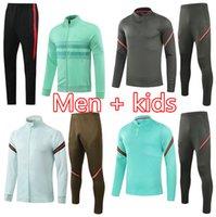 2022 Portuguese Men kids soccer tracksuit jacket 2021 Portugues JOAO FELIX survetement football training suit jogging chandal futbol