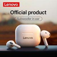 Lenovo lp40 fones de ouvido sem fio TWS bluetooth fones de ouvido toque controle esporte fone de ouvido estéreo fone de ouvido para telefone android