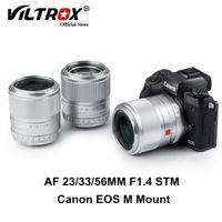 Other CCTV Cameras Viltrox 23 33 56mm F1.4 EF-M Auto Focus APS-C Large Aperture Portrait Lens For Canon EOS M Mount M5 M6II M200 M50