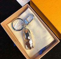 Fashion Sports Voiture Silver Lettre Full Letter Keychains Haute Qualité Métal Madmade Unisexe Clé Key Anneau Unisexe Pendentif Punk Keychain Bijoux