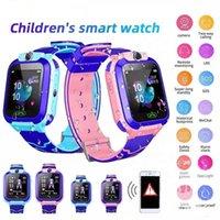 Q12 Kids Smart Watch Relojes de pulsera infantil IP67 Impermeable con LBS Tracker SOS Cámara Sim Llamada para Android PK DZ09 GT08 Q528 SmartWatch