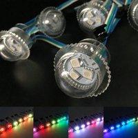 3LEDS 26 мм прозрачный обложка мечта полноцветная светодиодная струнная модуль пикселей открытой точки света SMD адресуемые модули RGB DC12V
