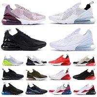 air max 270 airmax  react shoes BAUHAUS white Blue React men running shoes OPTICAL triple black mens trainers breathable sports outdoor sneakers 40-45 air max 270