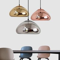 Pendant Lamps Nordic Led Crystal Stone Hanging Lamp Kitchen Dining Bar Light Chandeliers Ring Rooom