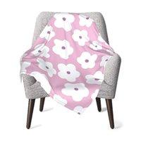 Blankets & Swaddling Baby Kids Blanket Quilt Pink Pastel Flower Cute Cartoon Birthday Born Swaddleme Soft Children Stroller Wrap For Girl Bo