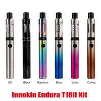 Authentic Innokin Endura T18II Starter Kit 1300mAh T18 II 2 Battery 2.5ml Prism T18 Tank Vape Stick Pen Hot 100% Genuine