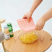 DIY 60 블록 아이스 트레이 아이스크림 케이크 용 베이킹 금형 초콜릿 요리 주방 도구 DHB7668
