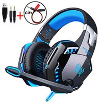 Video game headset with cable, helmet microphone, stereo surround sound for PS4 PC Notebook