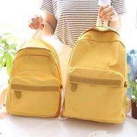 61567853 school bag women backpack Contracted design