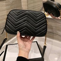 Marmont حقائب الكتف crossbody 2021 luxurys g مصممين كاميرا أزياء المرأة حقيبة حقائب اليد حقيبة يد السيدات سلاسل السيدات الصليب الجسم مخلب عالية الجودة