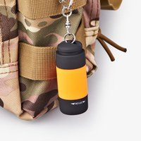 Flashlights Torches Waterproof LED Light Mini Portable USB Outdoor Rechargeable Keychain Glare Multi-color Torch Lamp Lights
