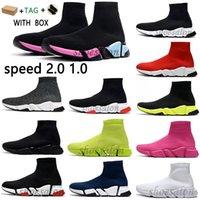 balenciaga balenciaca balanciaga designer sock sports speed 2.0 trainers trainer luxury women men 2021 runners shoes trainer sneakers hommes femme  femmes baskets  chaussures