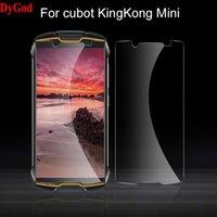 Для Cubot Kingkong Mini закаленного стекла Передняя пленка Protection Protection 4.0inch закаленного мобильного телефона Крышка клеточных защитных