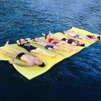 الصيف كبير في الهواء الطلق مقاوم للدموع XPE رغوة العائمة وسادة حمام السباحة المياه بطانية تعويم حصيرة السرير نفخ يطفو أنابيب