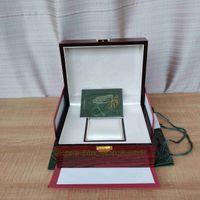 Lujo de alta calidad AP Royal Oak Relojes offshore Relojes Offshore Papeles originales Bolso de madera de madera roja 20mm x 16 mm para 15400 15710 15500 15202 26320 Reloj de pulsera