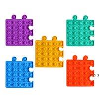 Multicolor Fidget Sensory Toys Lindere Stress Autismus bei Kindern und Erwachsenen, kann seine Blasenbrettspiele FWB5935 kombinieren