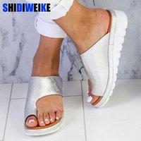 Плоский нижний тощий рукав Femme платформы сандалии сандалии Sandalias Mujer 2020 тапочки Zapatos de Mujer женщины клин Sandals размер 34 43 лодка обувь для мужчин военно-морской флот S U62B #
