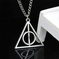 Potter'ın Harry aynı kolye üçgen yuvarlak kolye