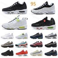2021 الاحذية 95 og البحرية الرياضة عالية الجودة chaussure 95s المشي أحذية الرجال الرياضة وسادة أحذية رياضية يورو 36-46