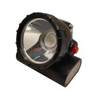 Scheinwerfer KL5LM Wireless LED Mining Headlampe Safety Miner Cap Lampe mit Strobe rot Blaues Licht für Angeljagden Reiten im Freienabenteuer