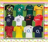 2021 Rugby World Cup Jersey Shirts 20 21 أيرلندا اسكتلندا ويلز الفانيلة الفريق الوطني زي الأعلى