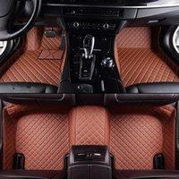 Tapis de plancher de voiture sur mesure pour Ford Tous les modèles F-150 Focus Explorer Mustang Kuga EcosporTcar Accessoires de voiture