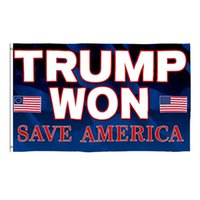 3*5 FT Trump Won Flag 2024 Election Flags Donald The Mogul Save America 150*90cm Banner ZZD8977
