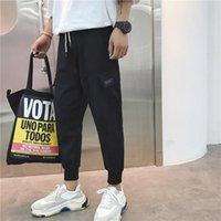 Мода мужской досуг грузовые брюки наклонный рот большие сумки Jogger спортивные штаны тактические грузы длинные брюки размер M-XXL мужчин