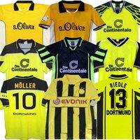 95 96 Retro 01 02 كرة القدم الفانيلة 00 02 Classic Soccer Jerseys Lewandowski Rosicky Bobic Koller 97 98 99 94 95 12 13 Reus Möller Dortmund