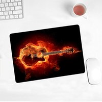 Mouse Pads & Wrist Rests Promotional 21x26cm Music Lovers Amateur Electric Guitar Picture Mousepad PC Notebook Tabllt Game Player Pad For Cs