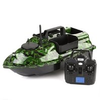 new GPS Smart RC Fishing Boat Cruise GPS Positioning 500M Independentt Control 3 Hoppers One-Key Return LCD Screen RC Bait Boat 210323