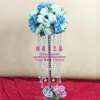 Party Decoration Centerpiece Flowers Vase Table Centerpieces Wedding Center Piece Gold Flower Holder Props Holiday