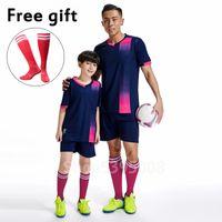Yeni Erkek Kız Futbol Setleri Ismarlama Futbol Suits Yetişkin Futbol Futbol Formaları Için Takım Elbise Eşofman Soccer Kitleri Koşu Eğitim Giysileri
