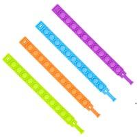 Силиконовые браслеты покрасненные жидкие браслеты ювелирные изделия браслет ручной дезинфицирующий диспенсер для часов носимые дозаторы HWB7463