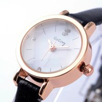 Wristwatches Wrist Watches Women Leather Belt Small Dial GOGOEY Brand Ladies Watch Fashion Casual Elegant Male Clock Montre Femme Gift