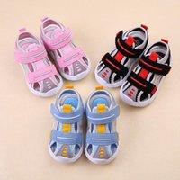 Сандалии Capsella Детские летние Детские мальчики Beach Shoes Girls 1-3-6 лет Мягкие дна Закрытые малыши дети 21-29