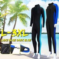 Unisex M-XXXL Men Women Nylon Wetsuit Surfing Swimming Diving Suit Long Steamer Wet Suit Jumpsuit Scuba Supplies A0512